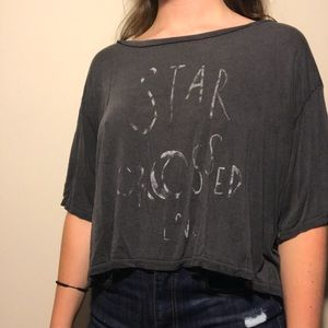 American Eagle Cropped Tee